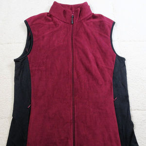 Columbia Titanium Burgundy/Black Vest Large
